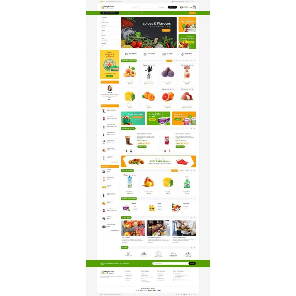 theme - Lebensmittel & Restaurants - Mega Mart Grocery - 3