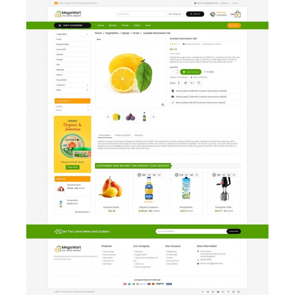 theme - Lebensmittel & Restaurants - Mega Mart Grocery - 6