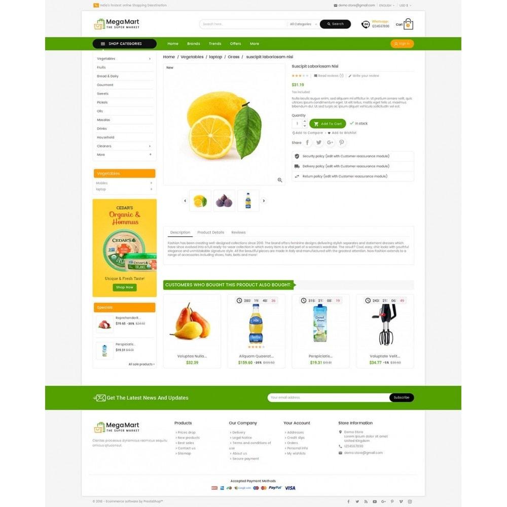 theme - Cibo & Ristorazione - Mega Mart Grocery - 6