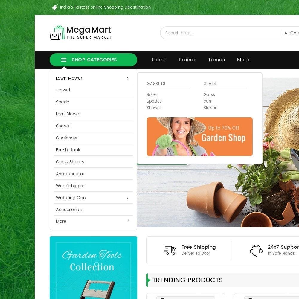 theme - Hogar y Jardín - Mega Mart Gardening Tools - 10
