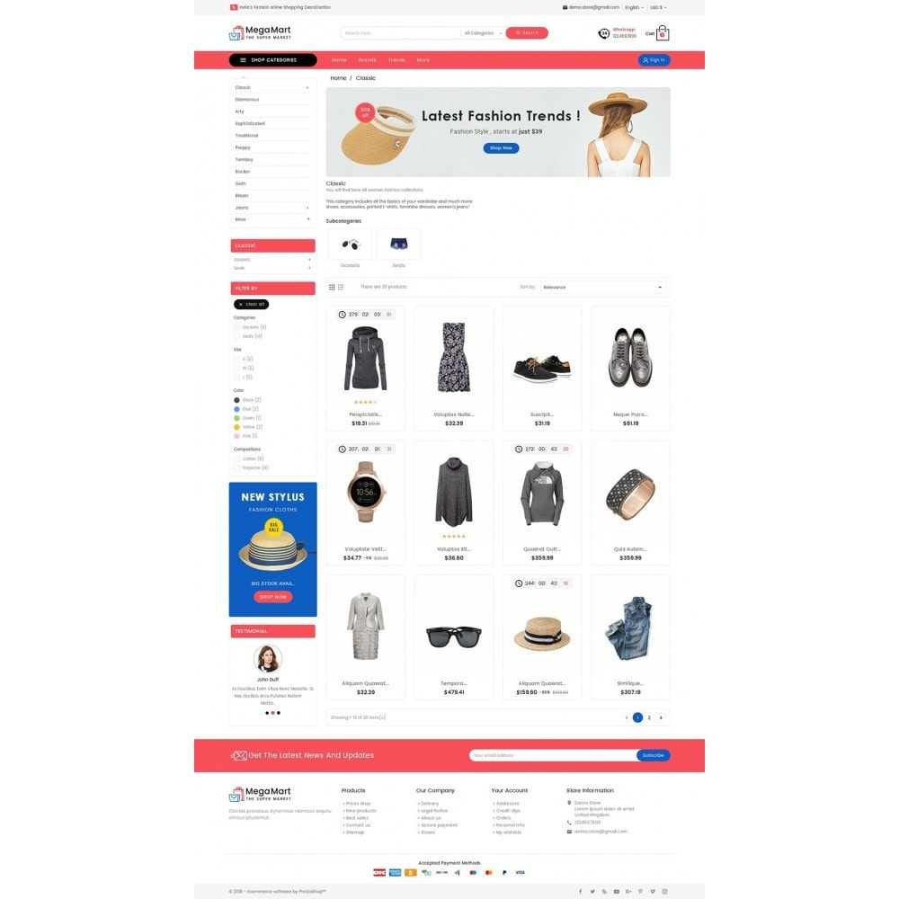 theme - Mode & Chaussures - Mega Mart Fashion Apparel - 3