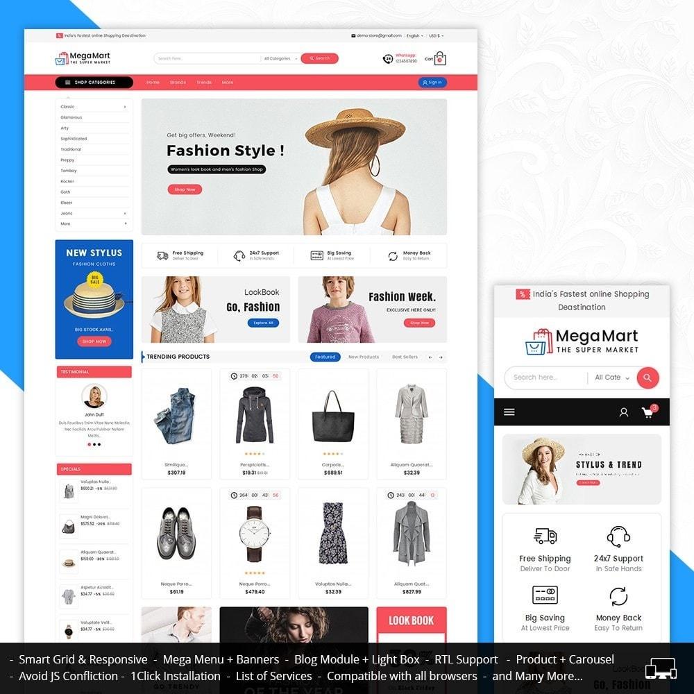 theme - Mode & Schuhe - Mega Mart Fashion Apparel - 2
