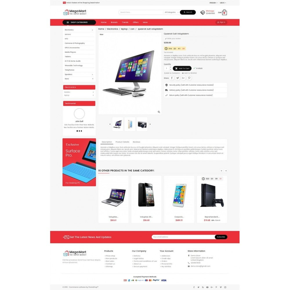 theme - Elektronik & High Tech - Mega Mart Electronics - 6