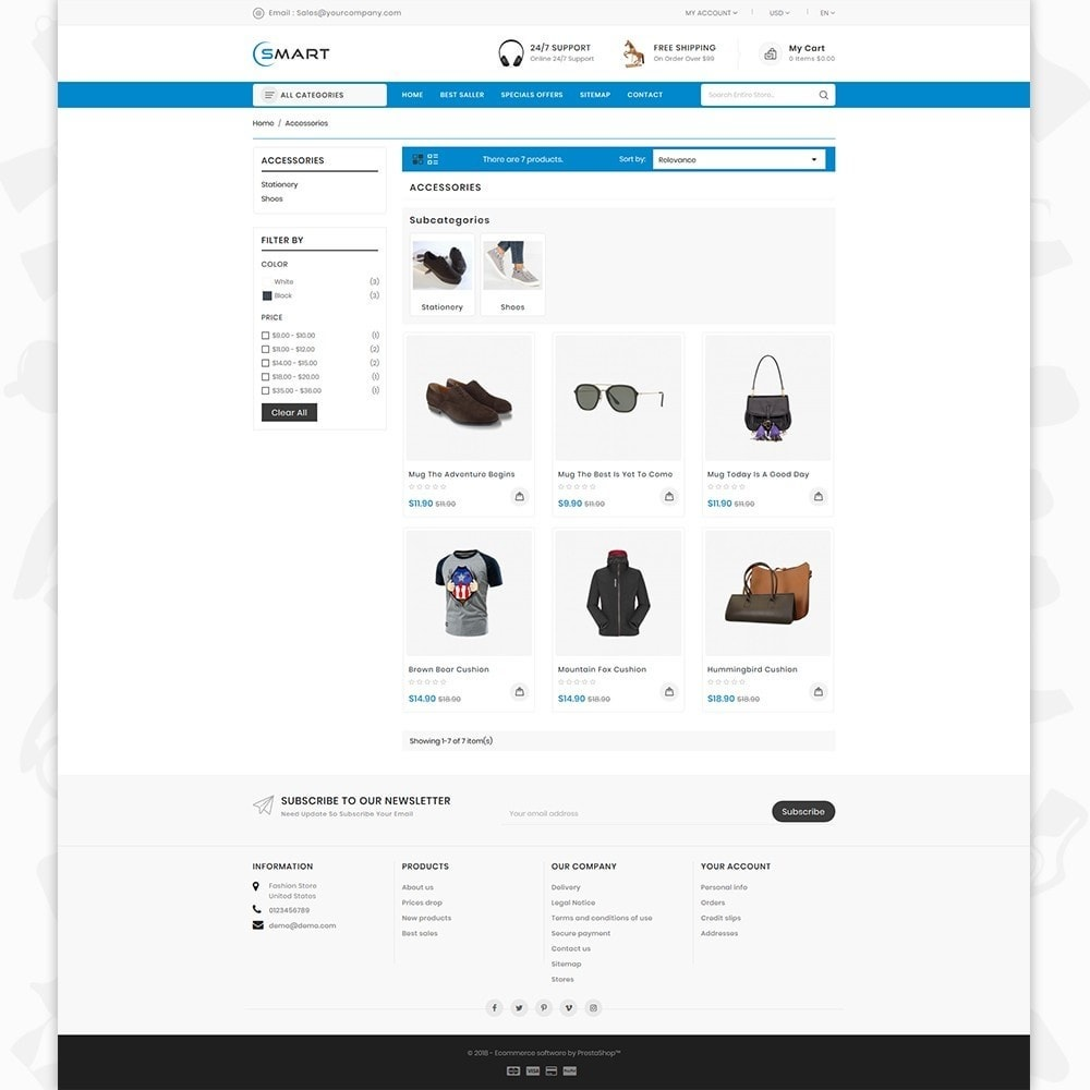 theme - Fashion & Shoes - Smart  - The Smart Store - 3