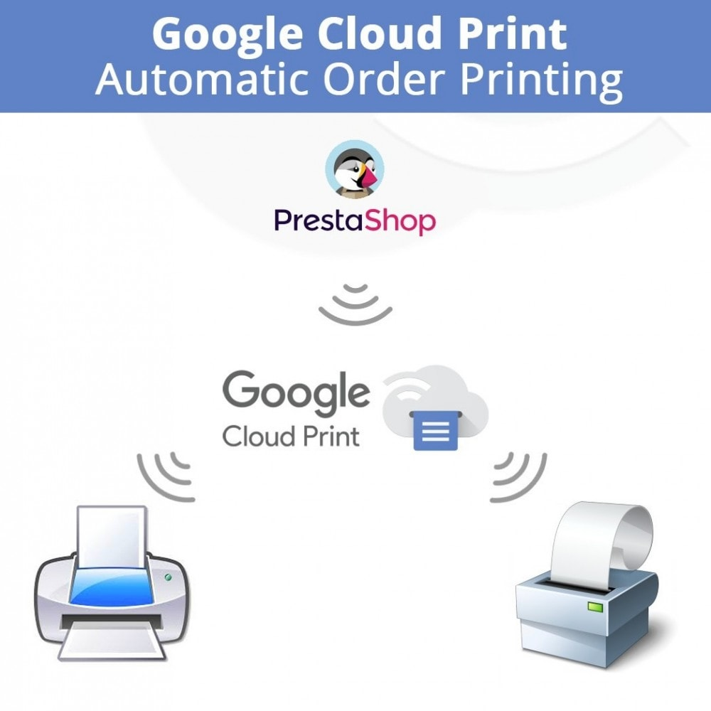 module - Preparation & Shipping - Google Cloud Print Automatic Order Printing - 1