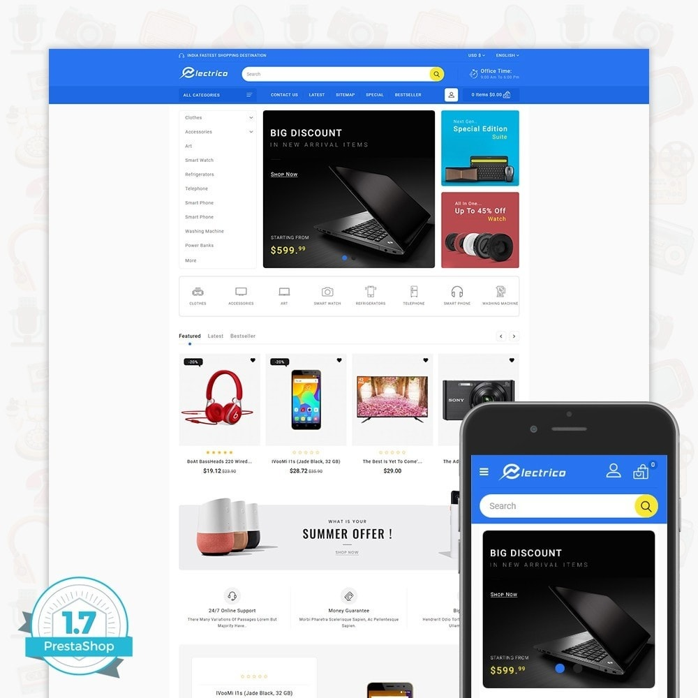 Electro - The Large Ecommerce Store