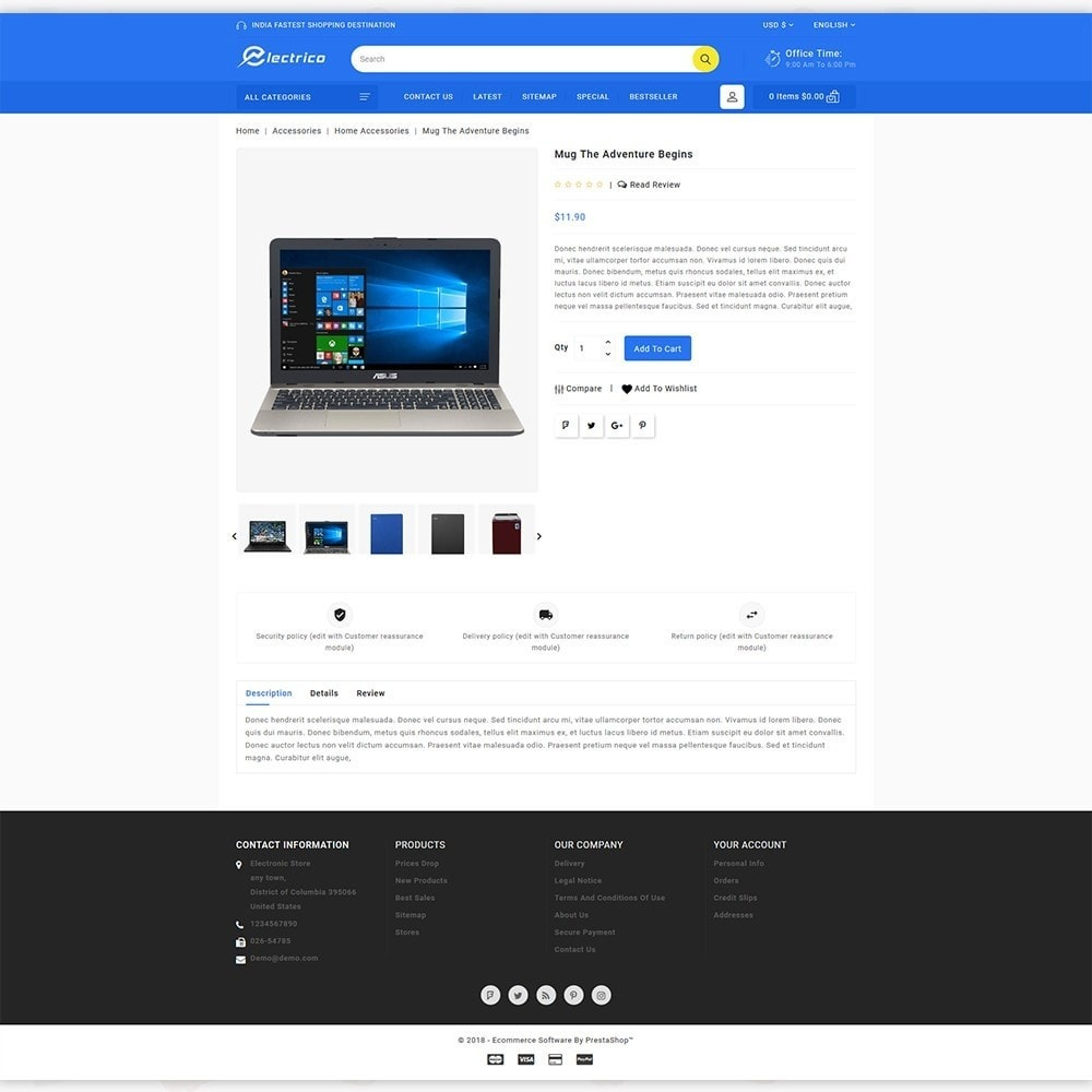 theme - Electronics & Computers - Electro - The Large Ecommerce Store - 5