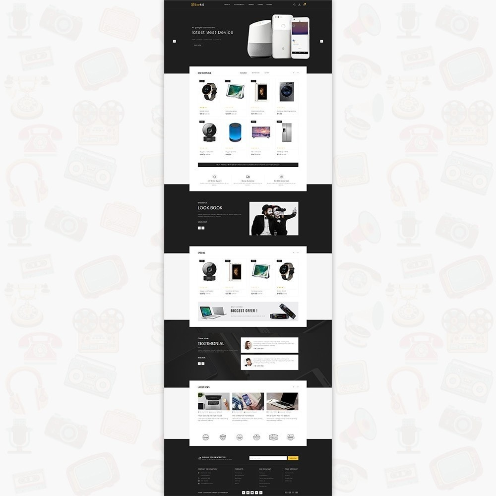theme - Eletrônicos & High Tech - ShopKing - The Large Ecommerce Store - 2