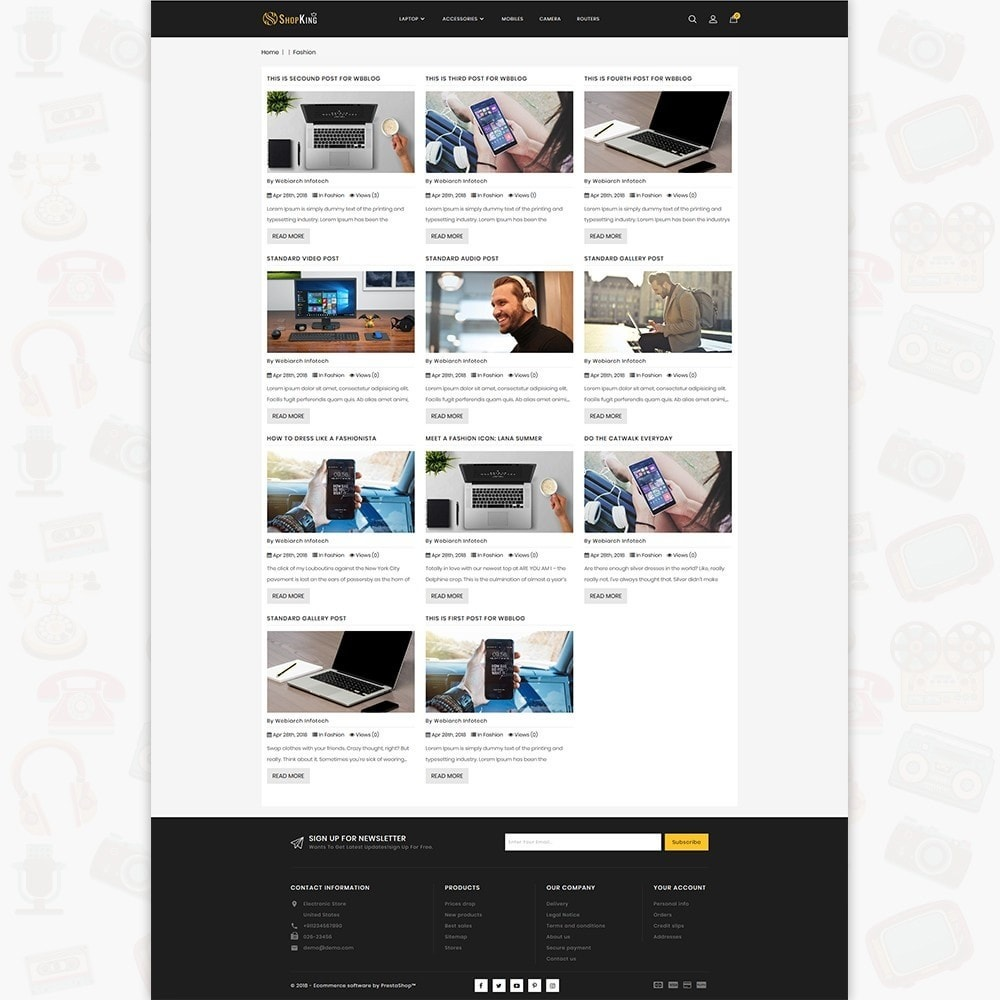 theme - Eletrônicos & High Tech - ShopKing - The Large Ecommerce Store - 7