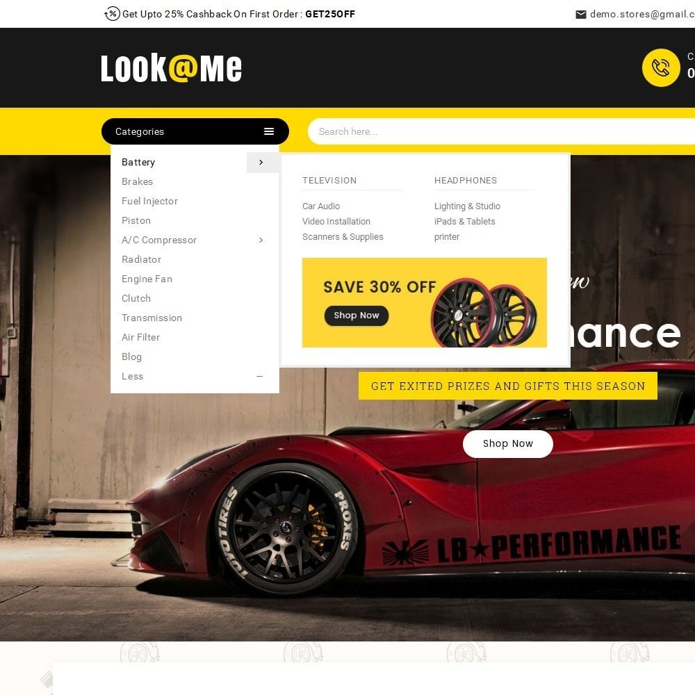 theme - Auto & Moto - Look me Auto Parts - 10