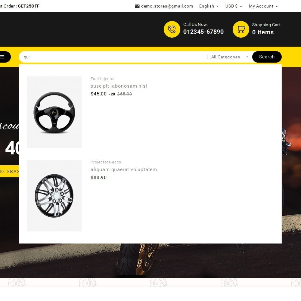 theme - Auto & Moto - Look me Auto Parts - 11