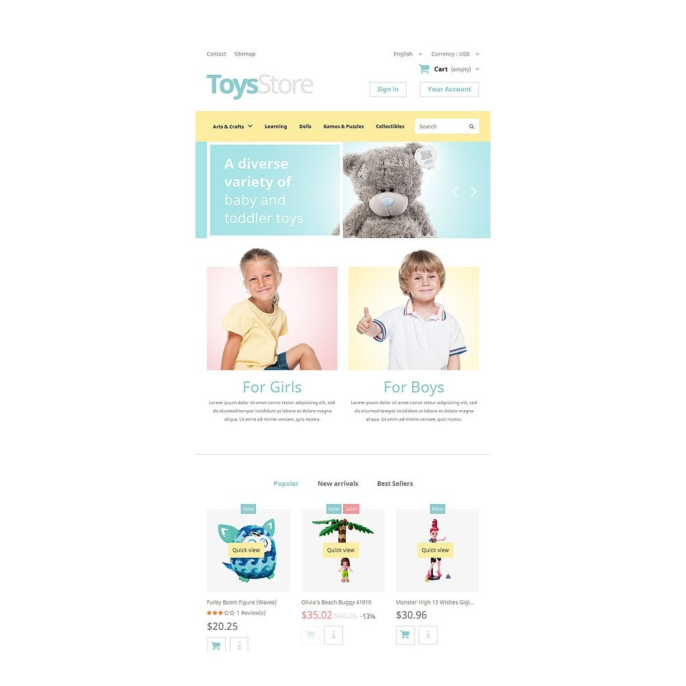 theme - Kinder & Spielzeug - Toys Shop - 7