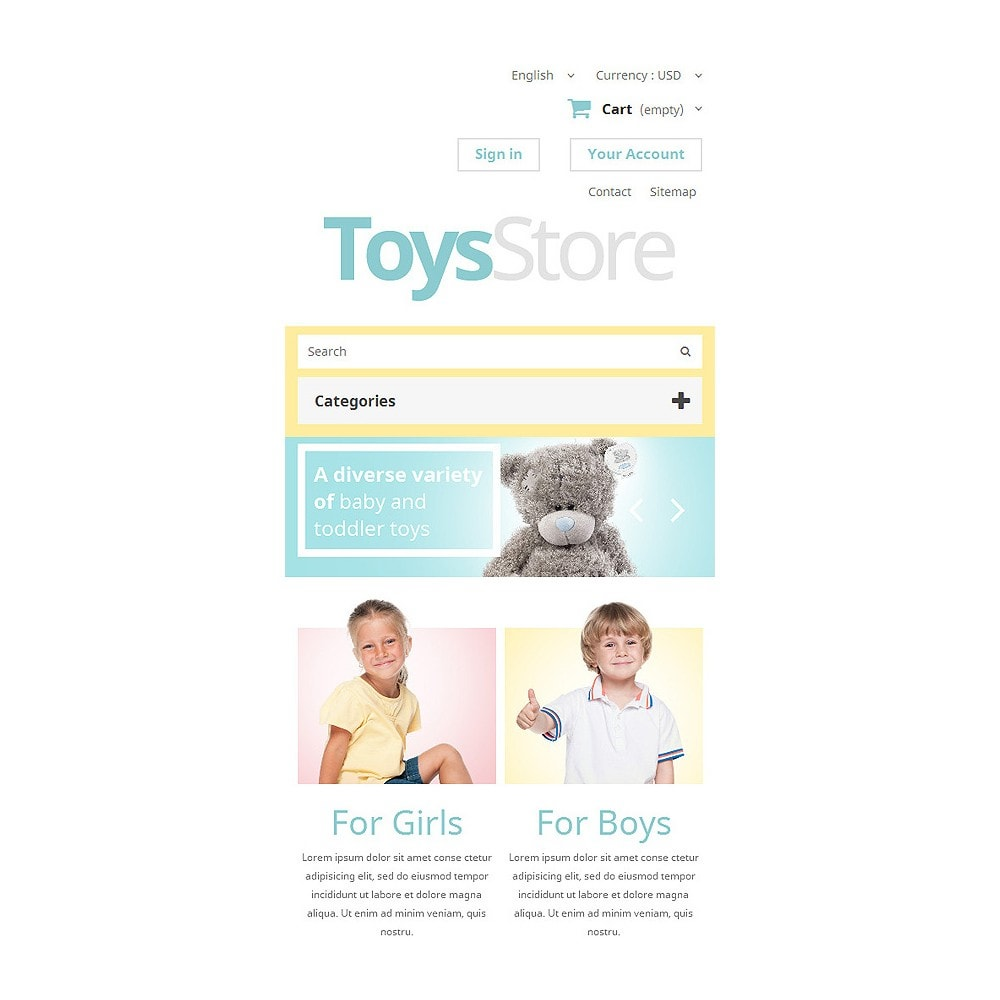 theme - Kids & Toys - Toys Shop - 8