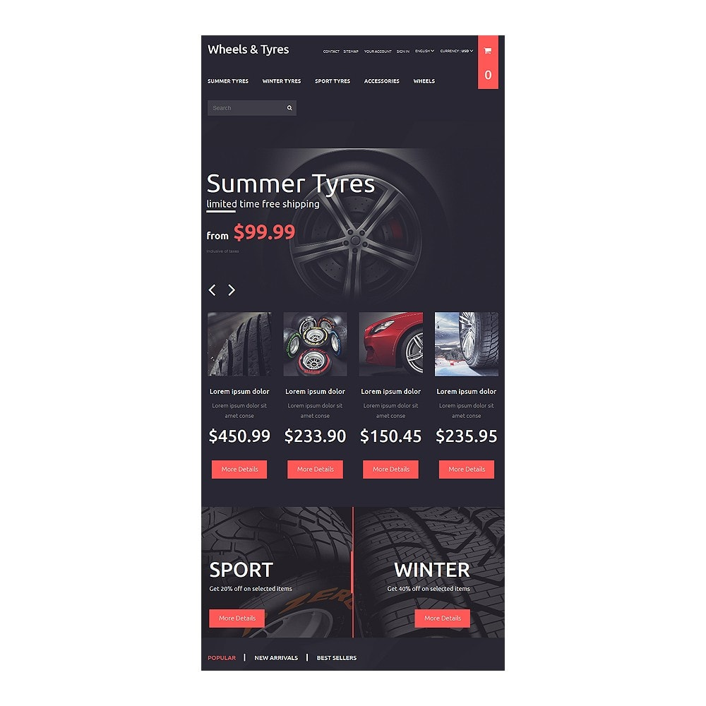theme - Carros & Motos - Wheels and Tyres - 7