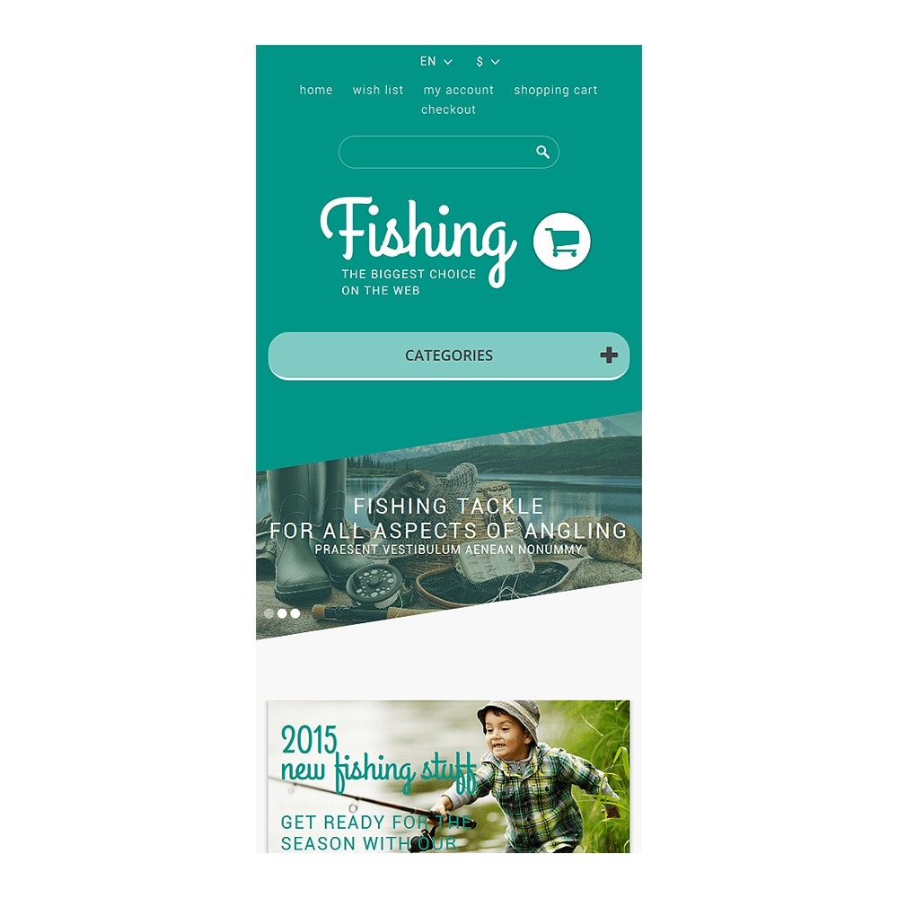 theme - Sports, Activities & Travel - Fishing Store - 8