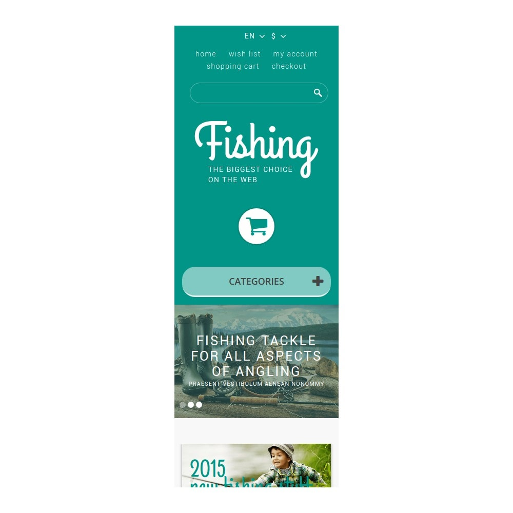 theme - Sports, Activities & Travel - Fishing Store - 9