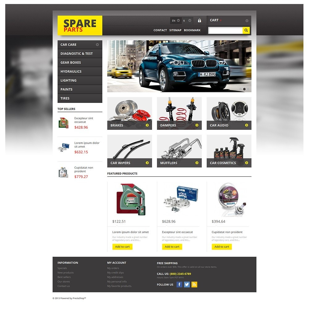 theme - Autos & Motorräder - Spares for Any Car - 2