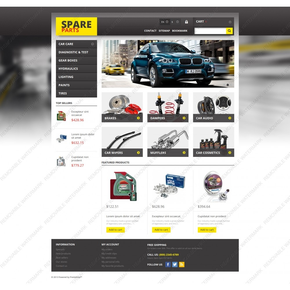 theme - Autos & Motorräder - Spares for Any Car - 5