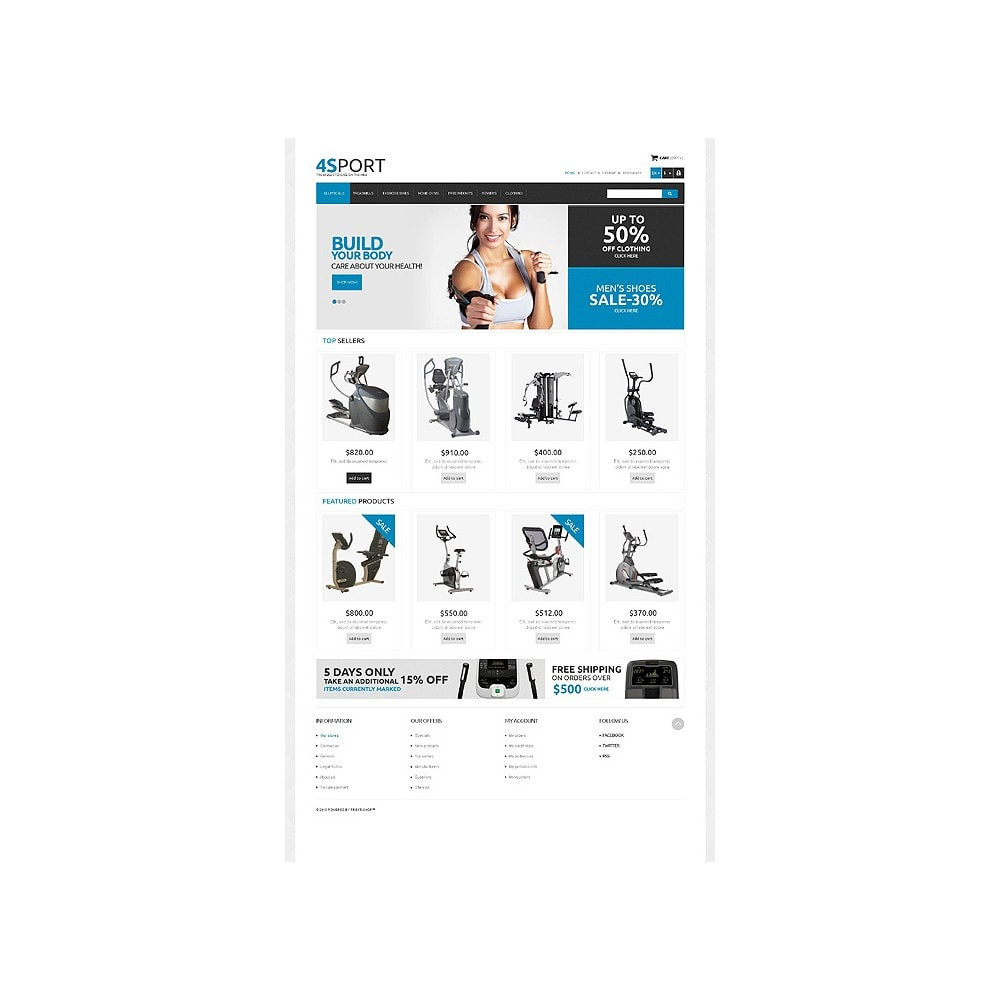 theme - Sports, Activities & Travel - Responsive Sport Store - 10