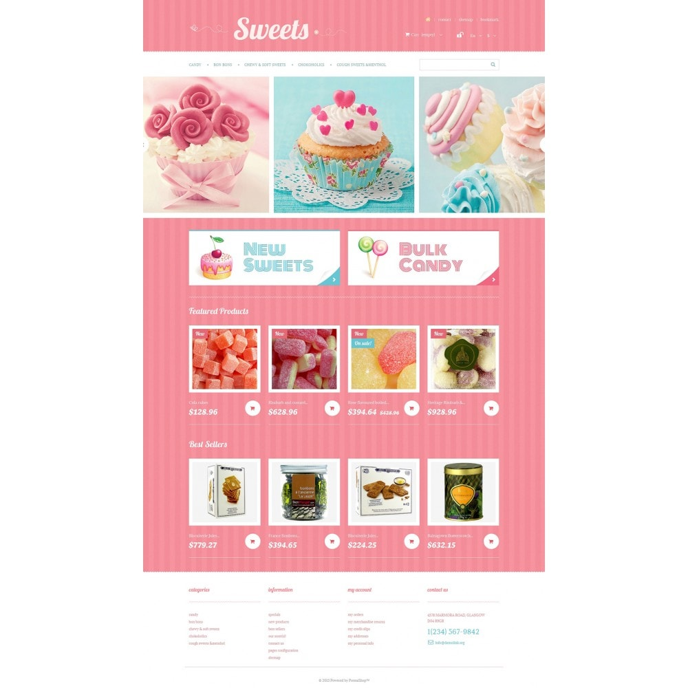 theme - Lebensmittel & Restaurants - Sweets Store - 2