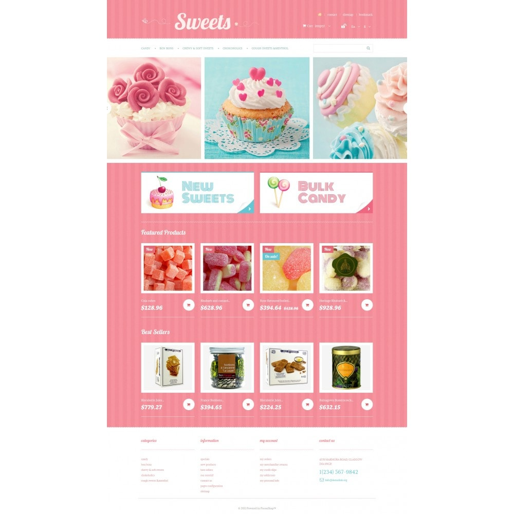theme - Lebensmittel & Restaurants - Sweets Store - 4