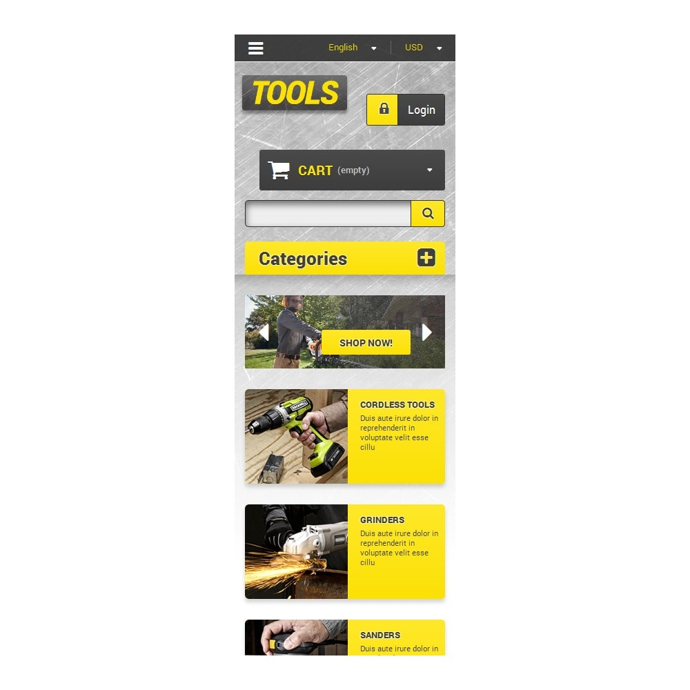 theme - Hogar y Jardín - Get Tools Online - 9