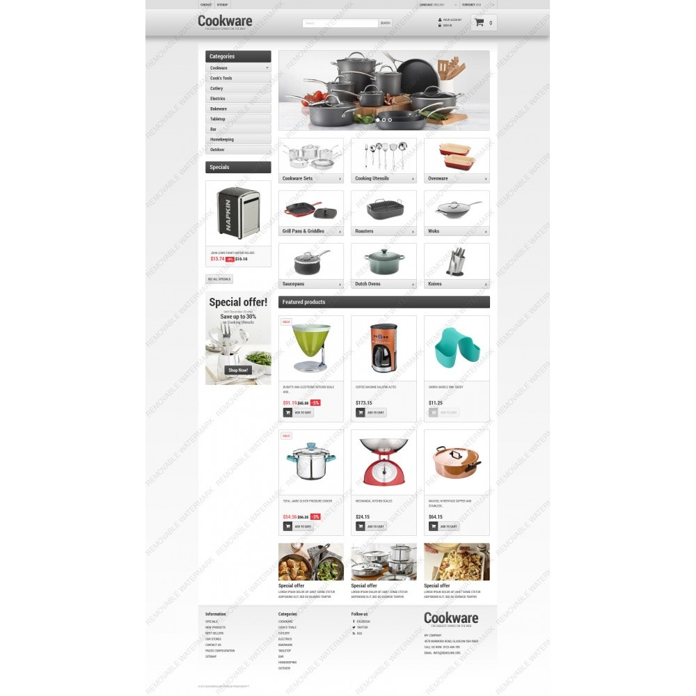 theme - Kultura & Sztuka - Kitchen Supplies Store - 5