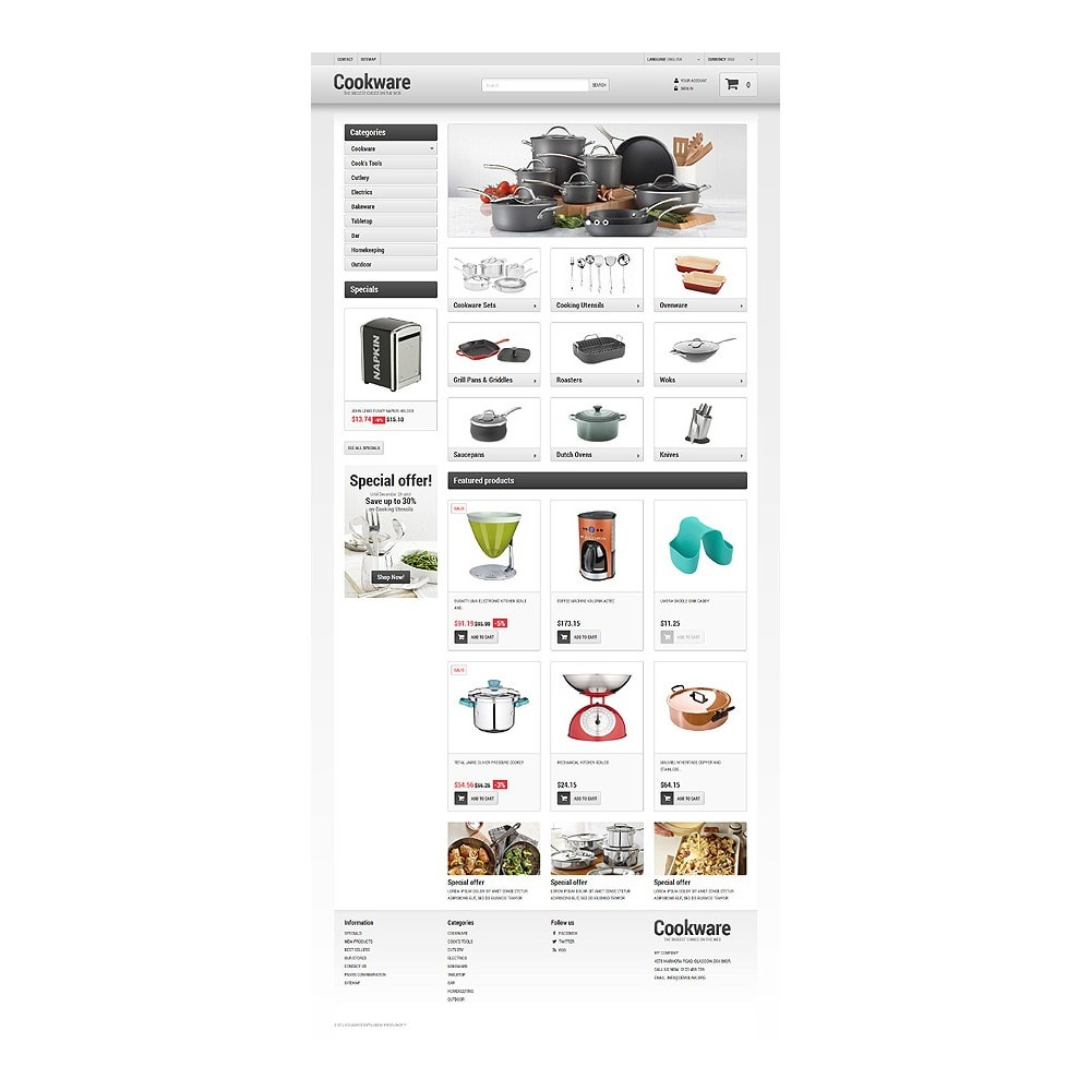 theme - Kultura & Sztuka - Kitchen Supplies Store - 10