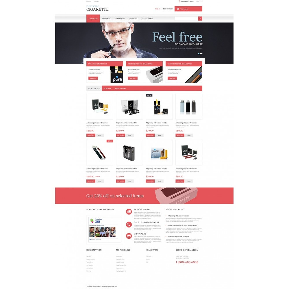 Electronic Cigarettes Store