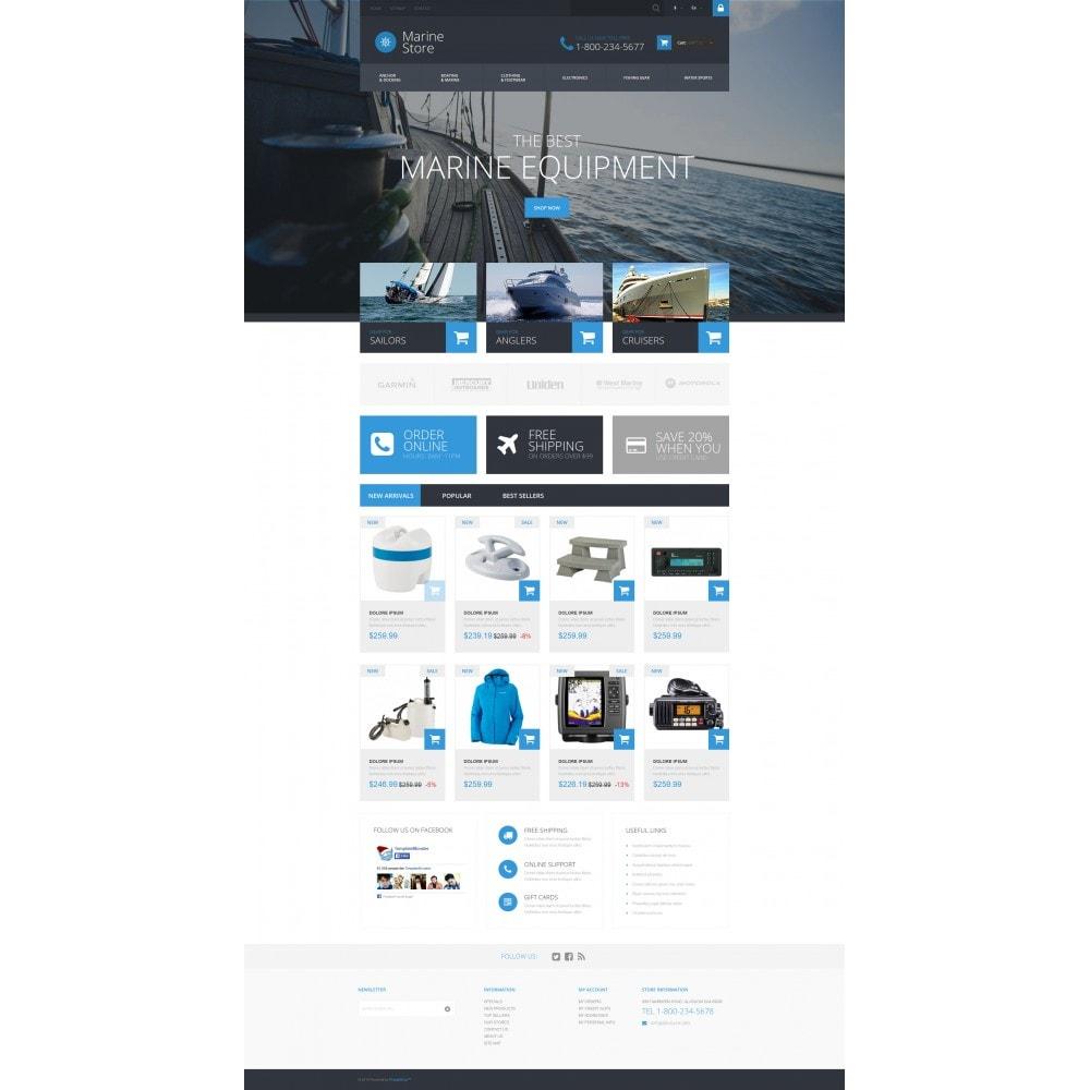 theme - Deportes, Actividades y Viajes - Marine Store - 4