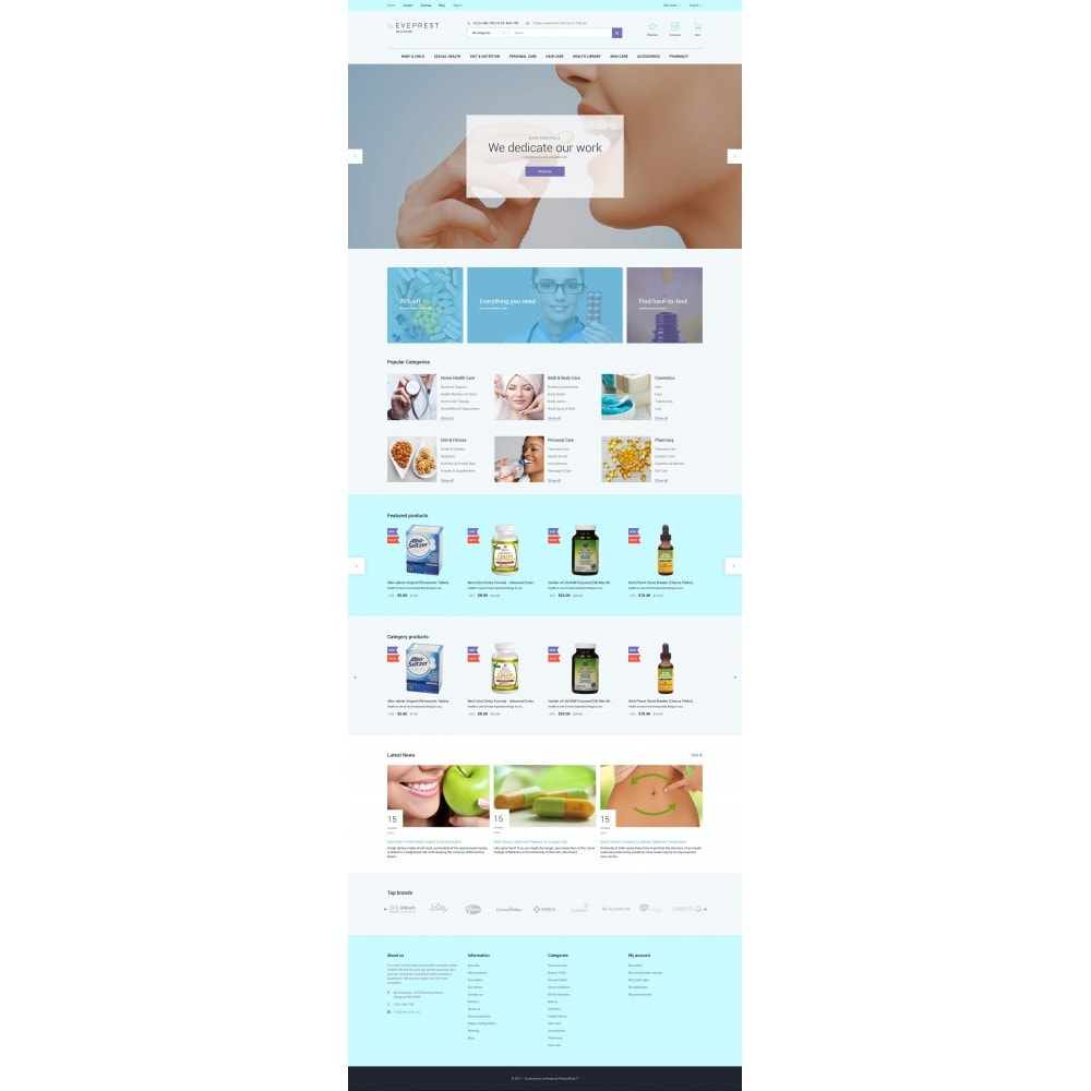 theme - Health & Beauty - Eveprest - Drugstore - 4