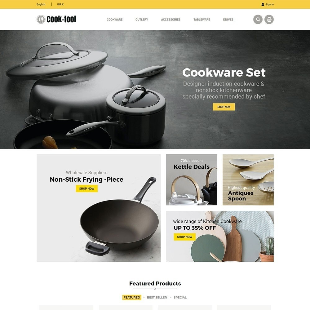 Cook tool - kitchen store