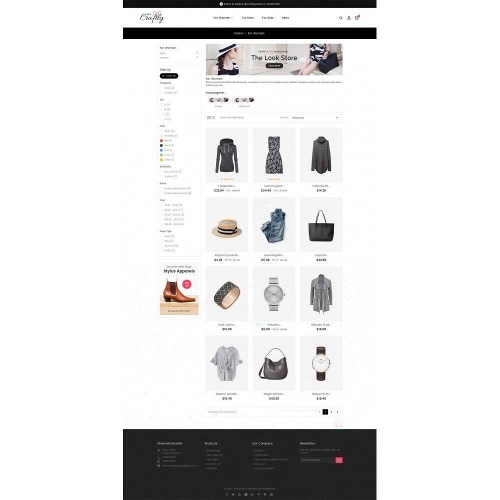 theme - Moda y Calzado - Craftly Fashion Apparels - 4