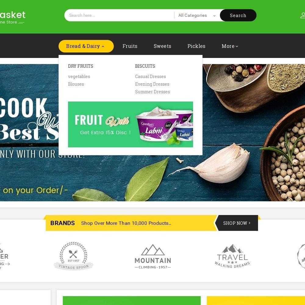 theme - Gastronomía y Restauración - Big Basket Mega Grocery - 10