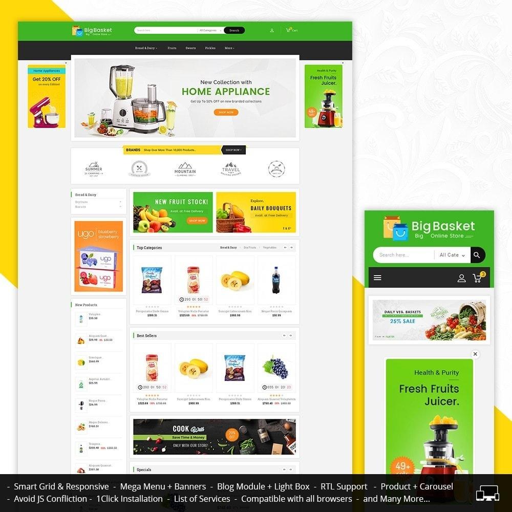 theme - Lebensmittel & Restaurants - Big Basket Mega Grocery - 2