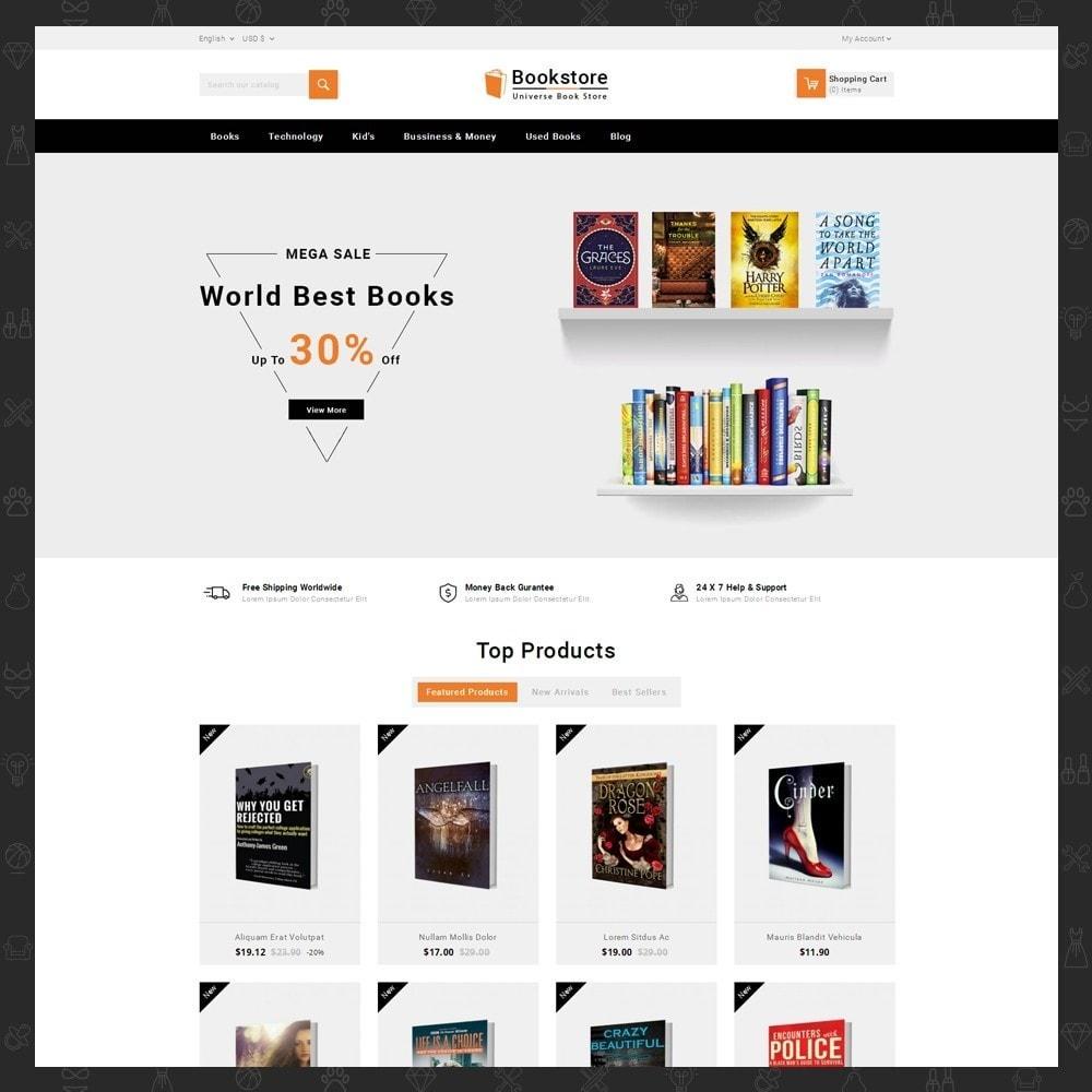 theme - Kultura & Sztuka - Universe Books Store - 2
