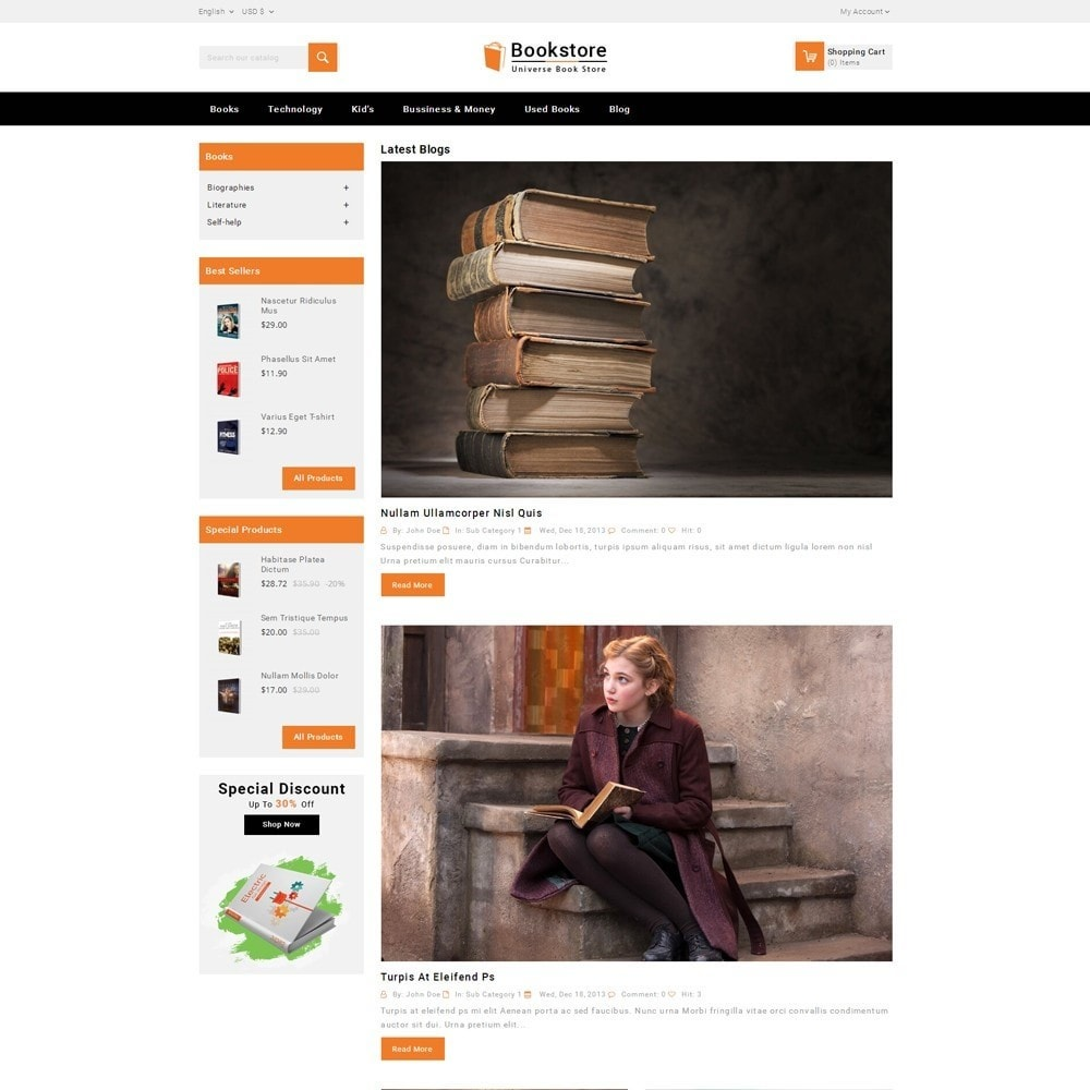 theme - Kultura & Sztuka - Universe Books Store - 6