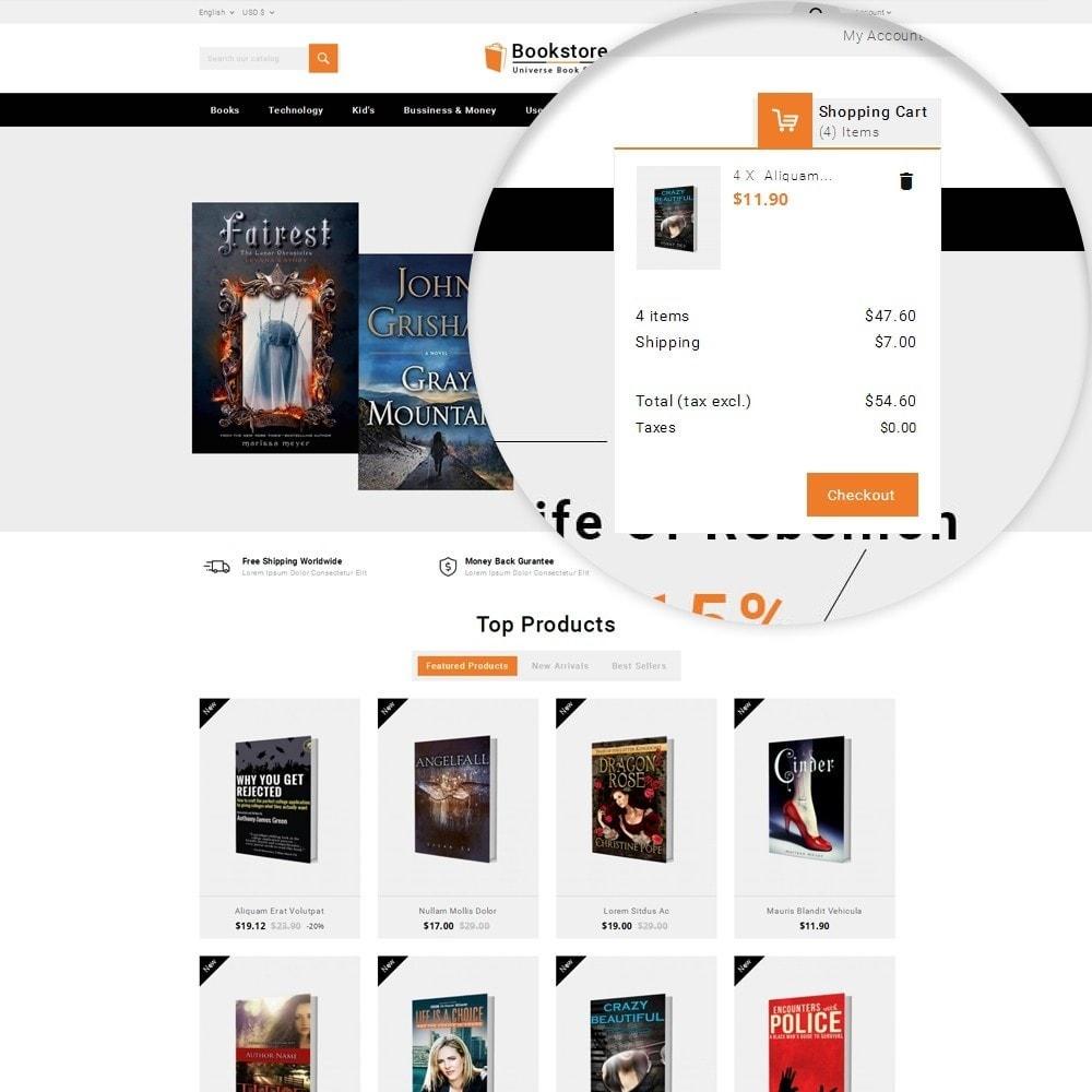 theme - Art & Culture - Universe Books Store - 11