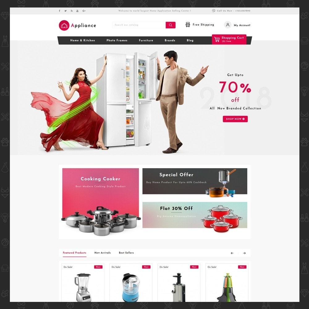 theme - Dom & Ogród - Home Appliances Store - 2