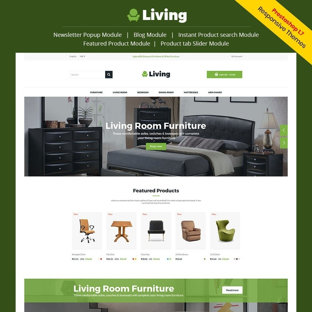 theme - Heim & Garten - Living - Furniture Store - 1