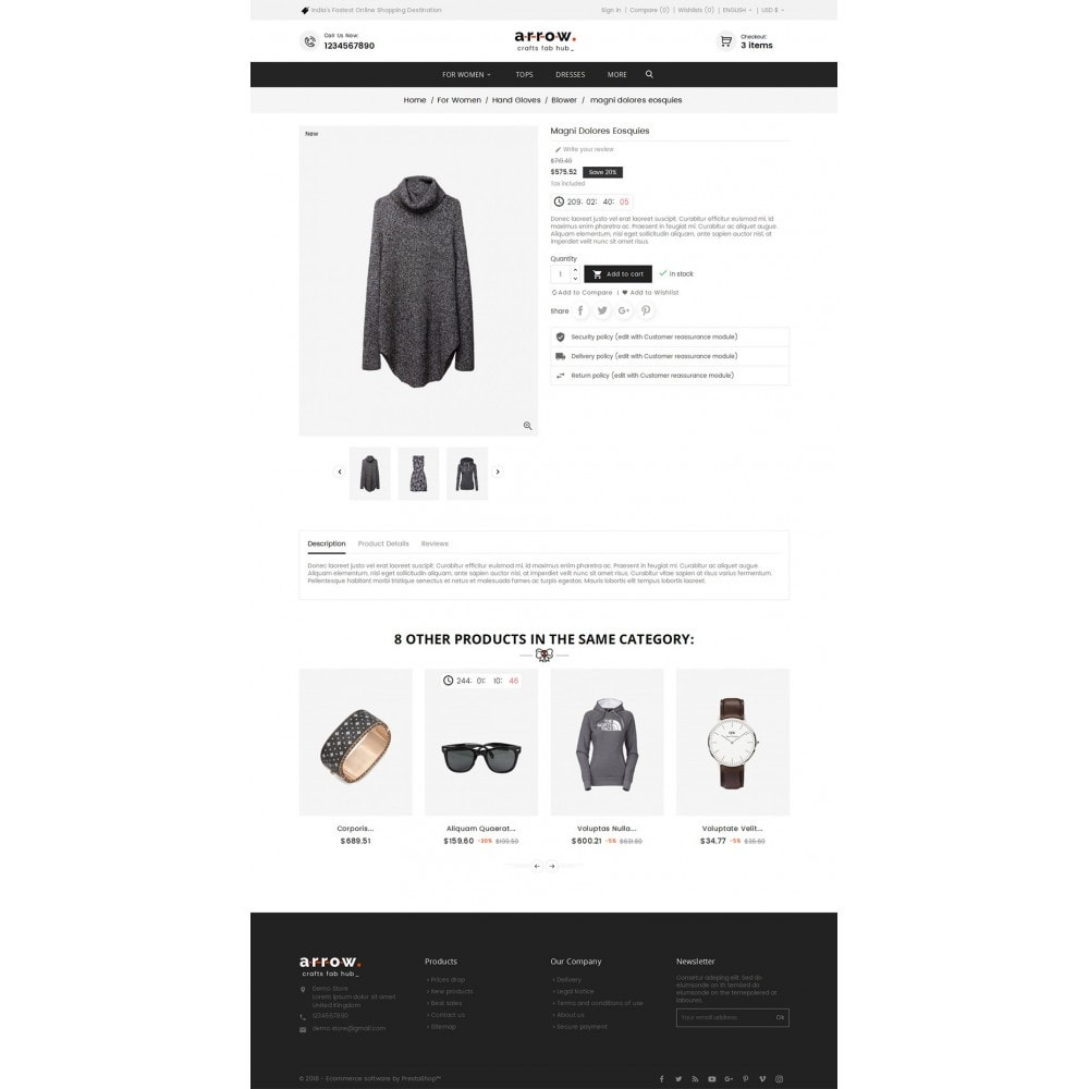 theme - Mode & Schuhe - Arrow Fashion Apparels - 6
