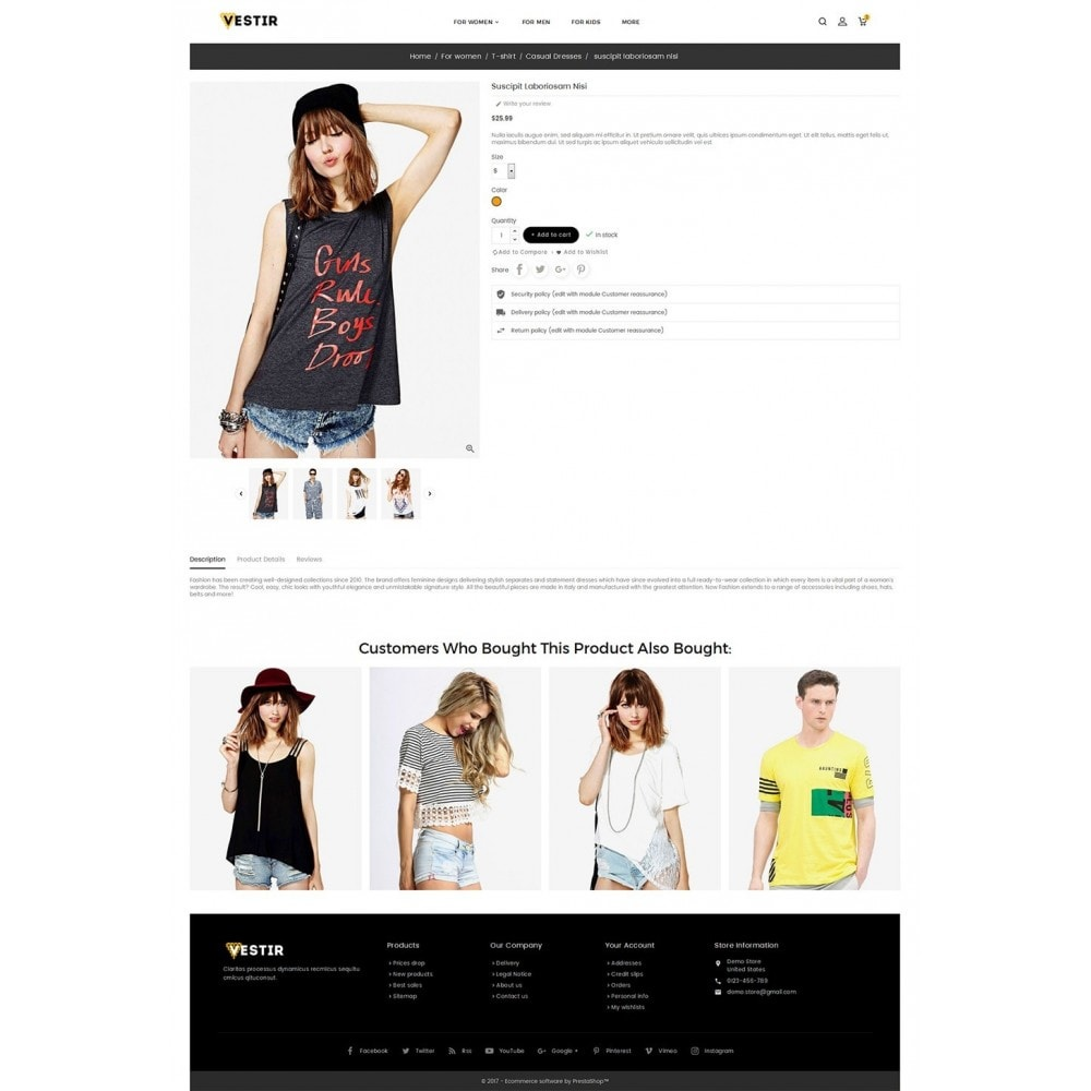 theme - Moda y Calzado - Vestir Fashion Catalog - 6