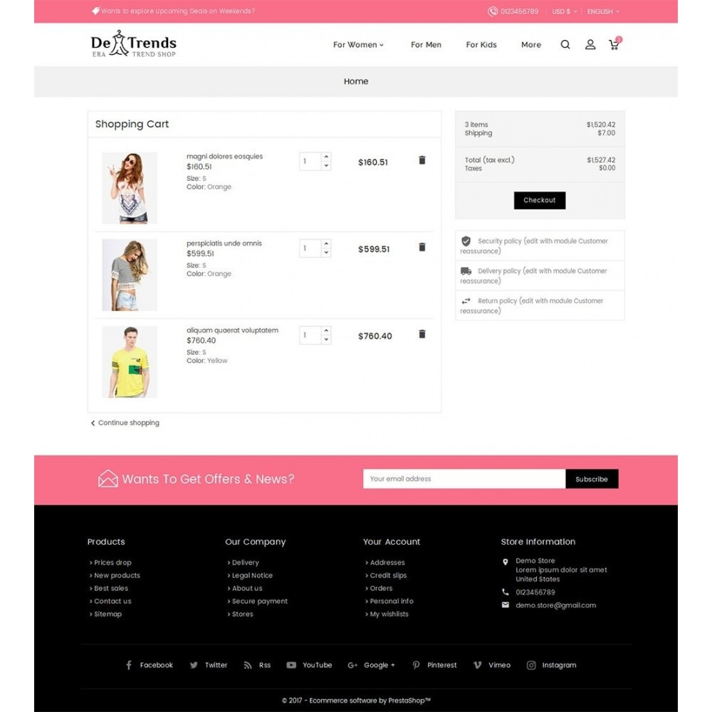 theme - Moda & Calzature - Trends Fashion Store - 7