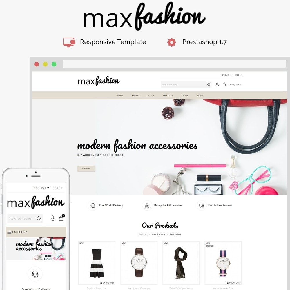 MaxFashion Demo Store