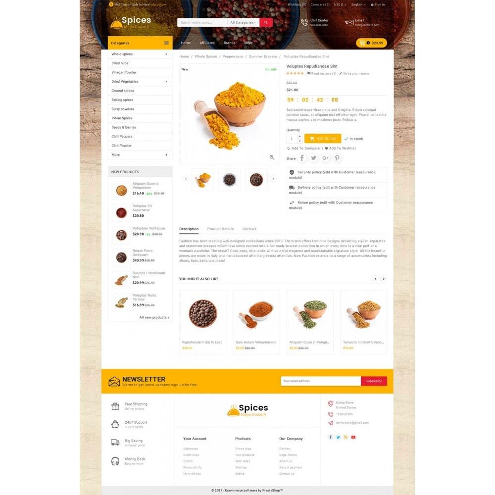 theme - Gastronomía y Restauración - Spices Mega Store - 6