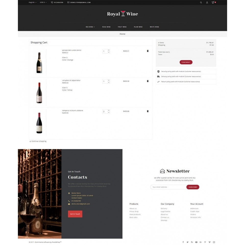 theme - Boissons & Tabac - Royal Wine - 7