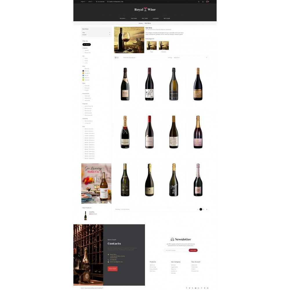 theme - Drink & Wine - Royal Wine - 4