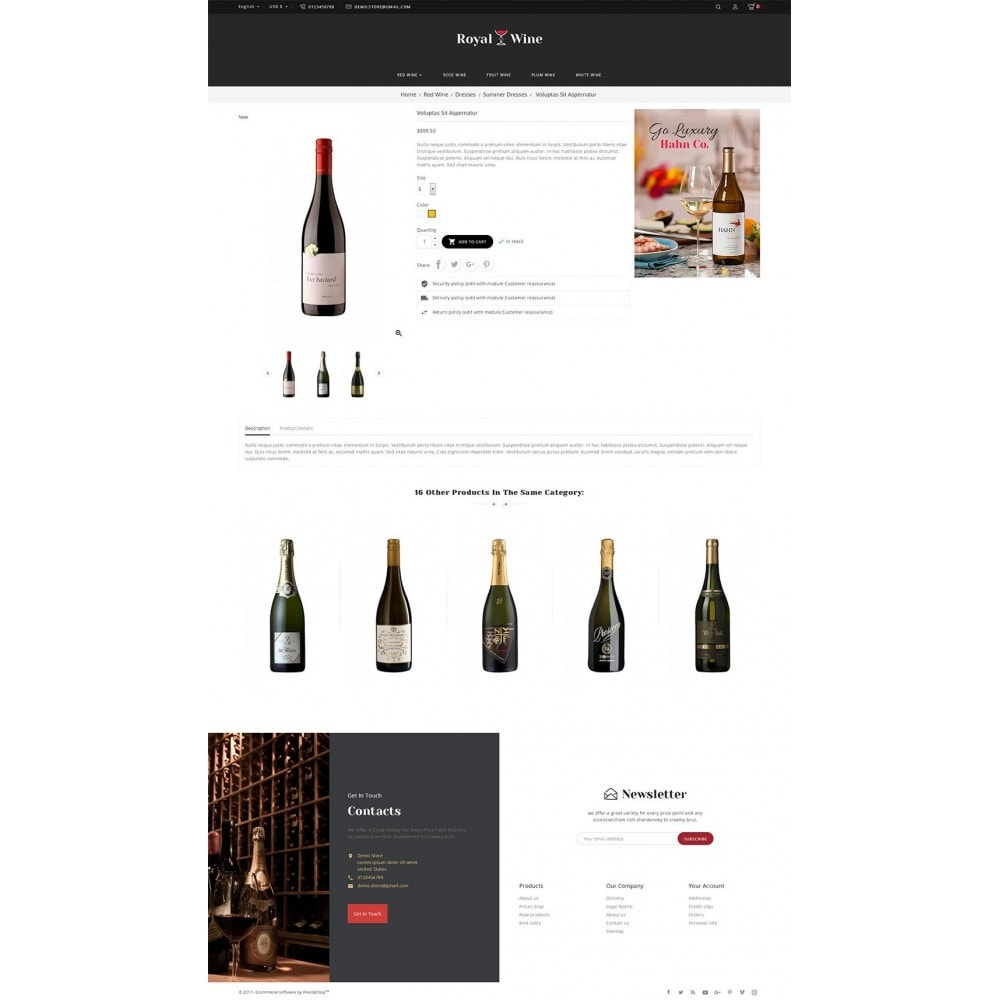 theme - Drink & Wine - Royal Wine - 6