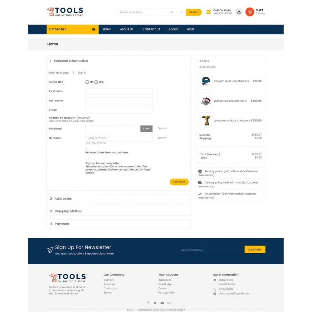 theme - Elettronica & High Tech - Mega Tools Store - 8
