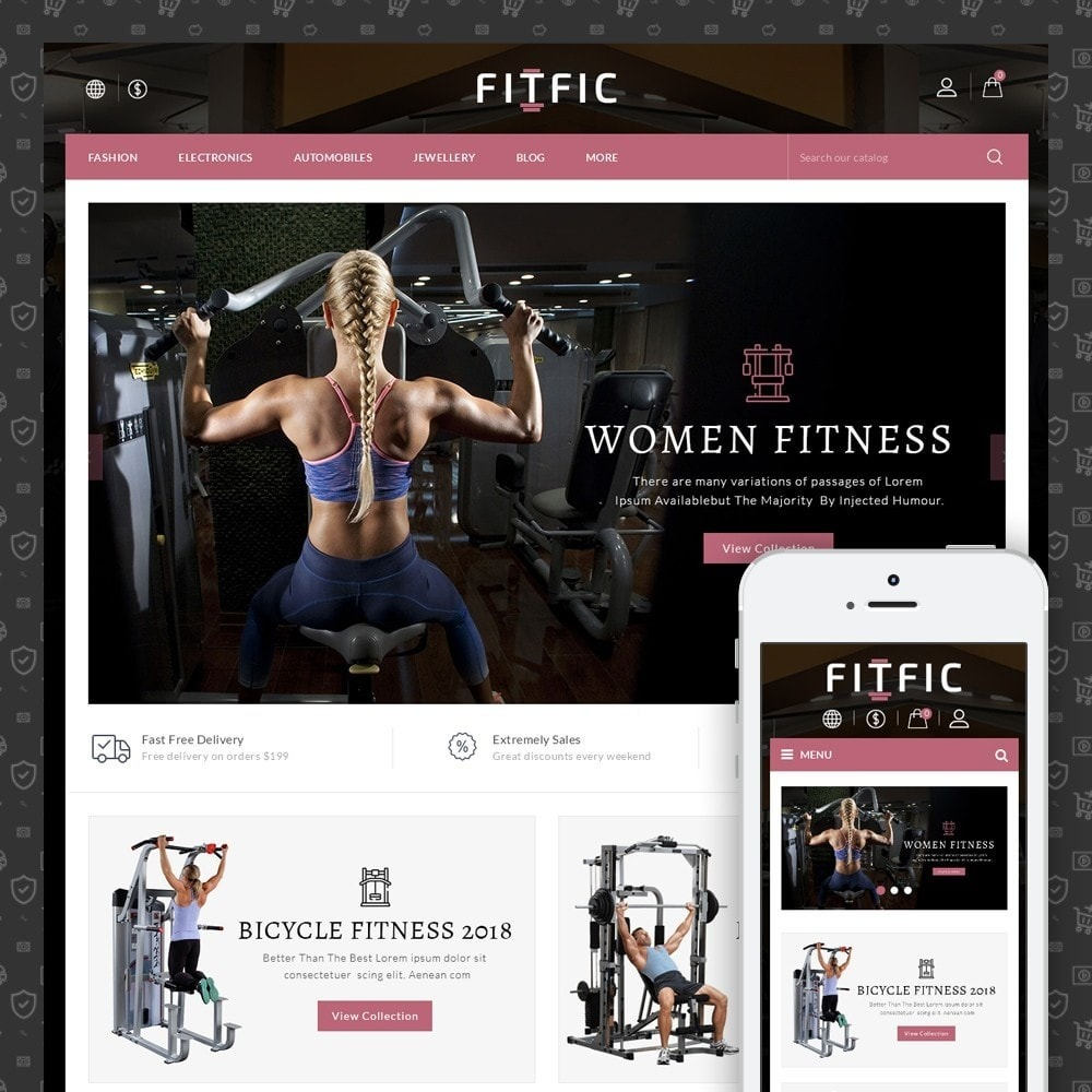 FitFic - Fitness Store